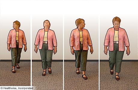Ejercicios de caminata para mejorar el equilibrio