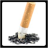 Imagen de una colilla de cigarrillo